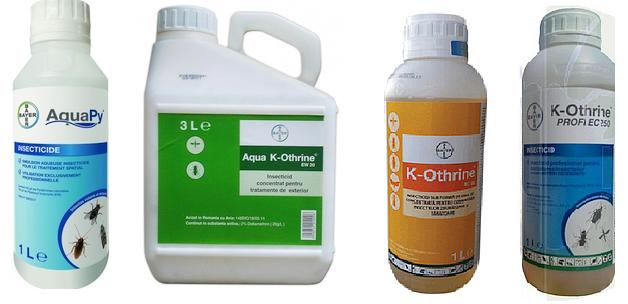 tantari insecticide recomandate